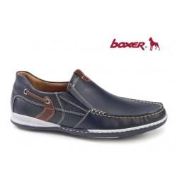 Boxer 21138 12-016 Μπλε Δέρμα
