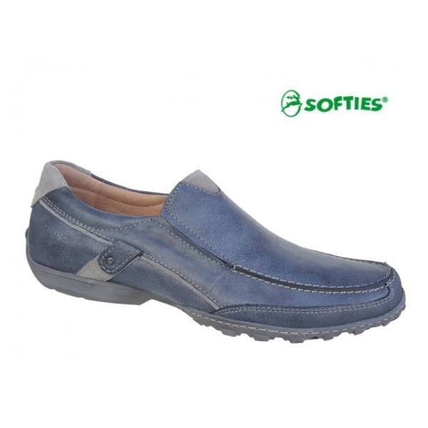 SOFTIES 6862 Μπλε τζιν δέρμα