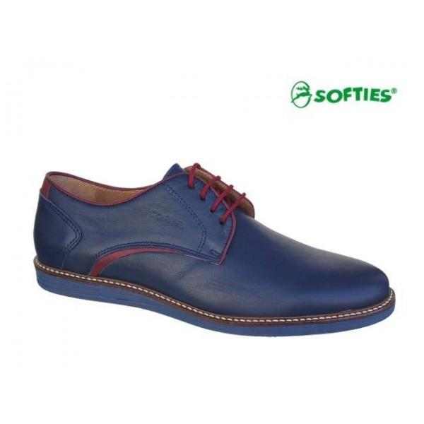 SOFTIES 6888 Μπλε δέρμα