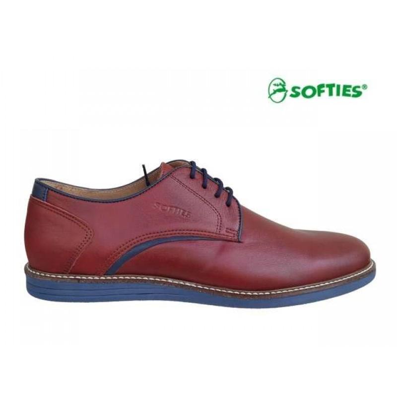 178592a3a48 ... Ανδρικά Παπούτσια SOFTIES 6888 Μπορντό Σκαρπίνια