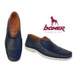 Ανδρικά Παπούτσια Boxer 15330 12-016 Μπλε Μοκασίνια