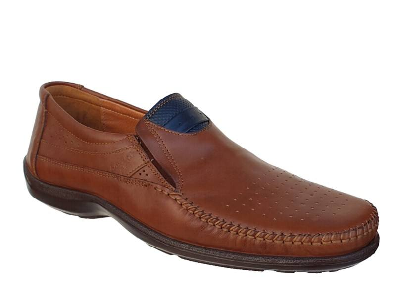 Ανδρικά Παπούτσια Boxer 15330 14-119 Ταμπά Μοκασίνια
