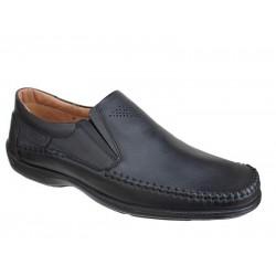 Ανδρικά Παπούτσια Boxer 15331 14-111 Μαύρα Μοκασίνια