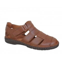Ανδρικά Δερμάτινα Πέδιλα Boxer shoes air 17219 14-119