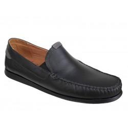 Ανδρικά Παπούτσια Boxer shoes 21152 14-111 Μαύρα Μοκασίνια