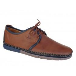 Boxer shoes 21155 14-119 Ταμπά Ανδρικά Παπούτσια