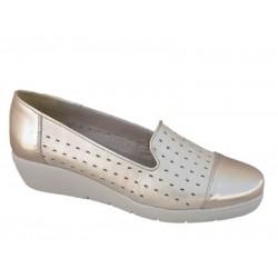 Γυναικεία Καλοκαιρινά Μοκασίνια Boxer shoes 52364 17-162 Χρυσό