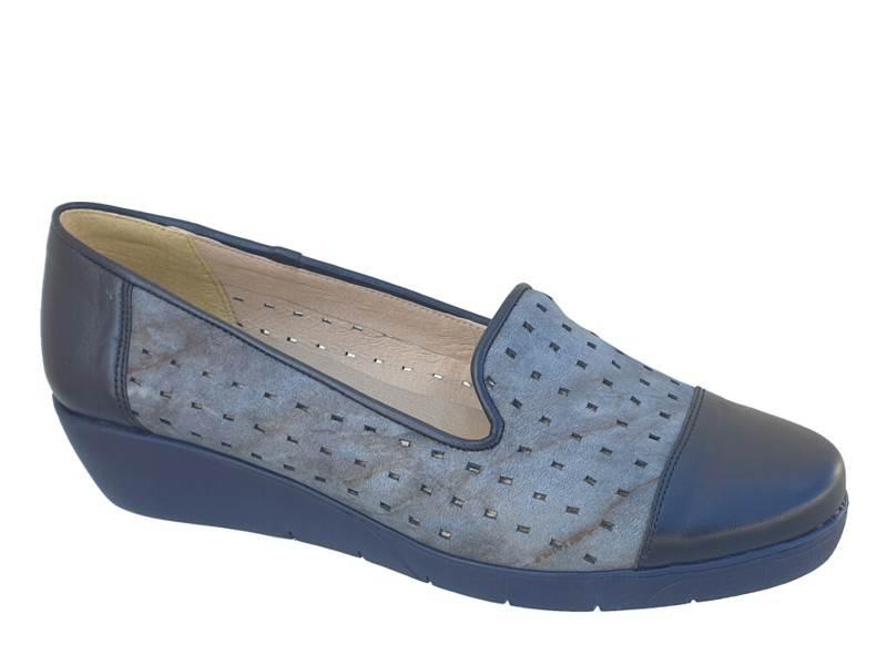 Γυναικεία Καλοκαιρινά Μοκασίνια Boxer shoes 52364 17-616 Μπλε