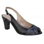 Γυναικεία Παπούτσια Boxer chic 59049 17-011 Μαύρα Γυναικεία Πέδιλα