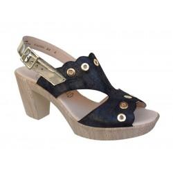 Boxer shoes 84080 16-211   Δερματινα Γυναικεία Πέδιλα