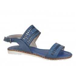 Boxer 92037 17-016 Μπλε Γυναικεία Πέδιλα - Σανδάλια