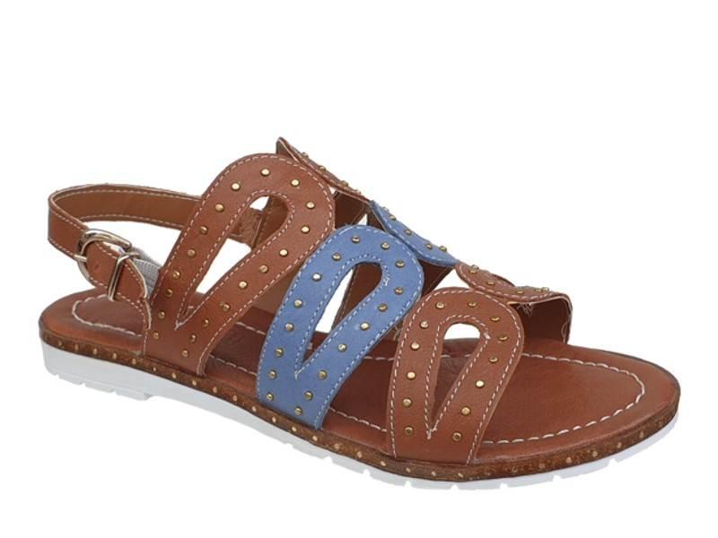 Boxer 92038 17-019 Ταμπά   Γυναικεία Πέδιλα - Σανδάλια
