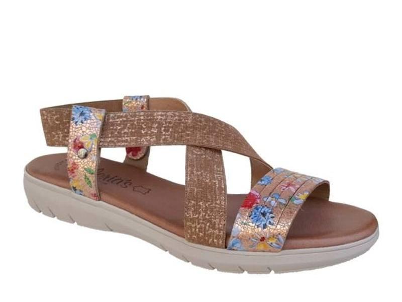 Παπούτσια Valeria's 4000 Χαλκός Γυναικεία Πέδιλα