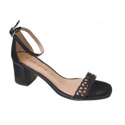 Δερμάτινα  Παπούτσια ESTE 50502 Γυναικεία Πέδιλα