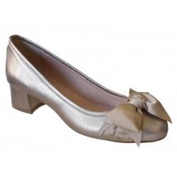 Δερμάτινα Παπούτσια ESTE 45468 Άμμου | Γυναικείες Γόβες