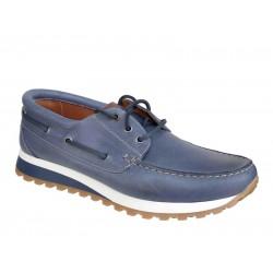 Spor Ανδρικά Δερμάτινα Παπούτσια | Gallen 250 Μπλε