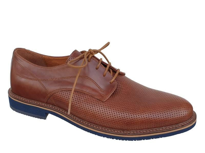 Ανδρικά Παπούτσια Kricket 092 Casual - Αμπιγέ | Δερμάτινα Σκαρπίνια