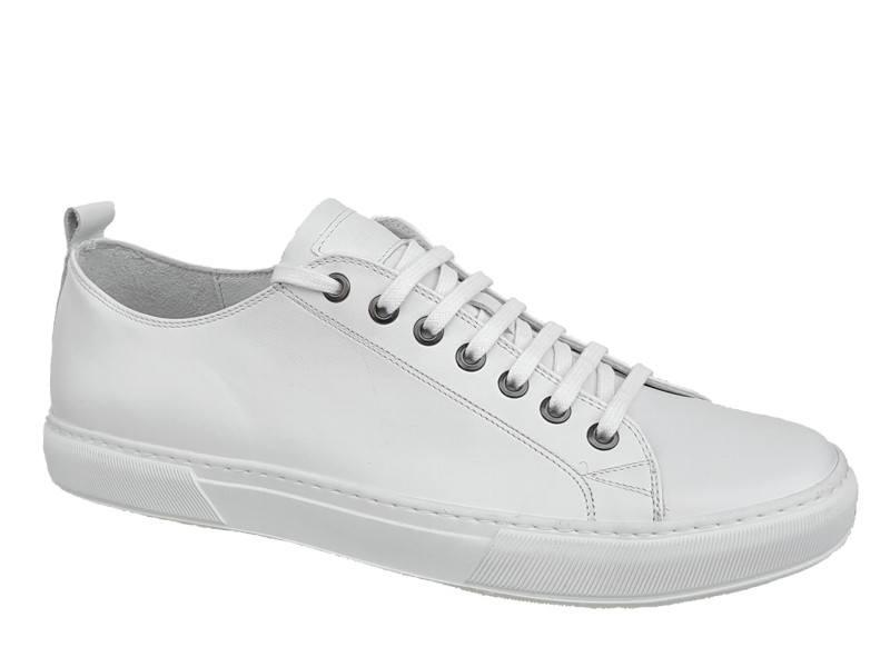 Casual Παπούτσια Kricket 442 Λευκά Ανδρικά Sneakers