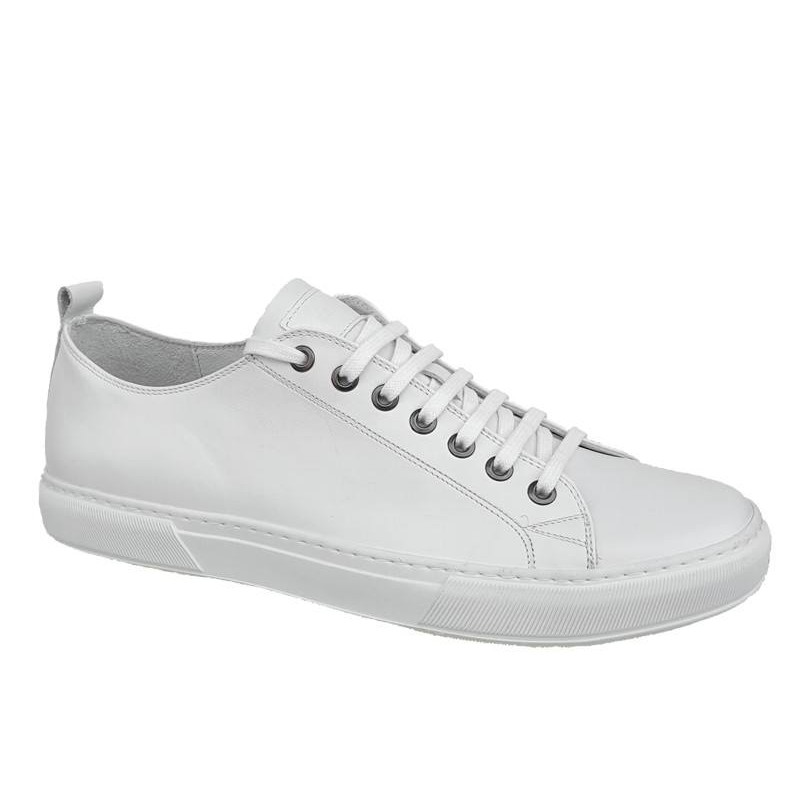 8cb607d0c9d -10% Casual Παπούτσια Kricket 442 Λευκά Ανδρικά Sneakers