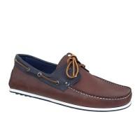 Kricket shoes 559 Καφέ Μπλε Ανδρικά Boat | papoutsomania.gr