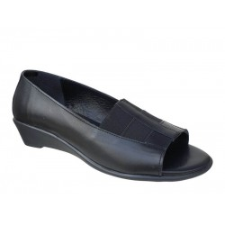 Γυναικεία μοκασίνια peep toe | Ανατομικά παπούτσια Relax anatomic 100156-01