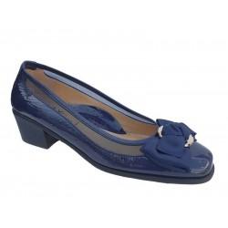 Δερμάτινα Παπούτσια Relax anatomic 5190-03 Μπλε Γυναικείες Γόβες