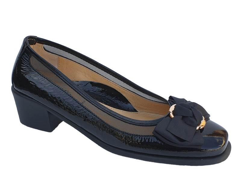 Δερμάτινα Παπούτσια Relax anatomic 5190-03 Μαύρες Γυναικείες Γόβες