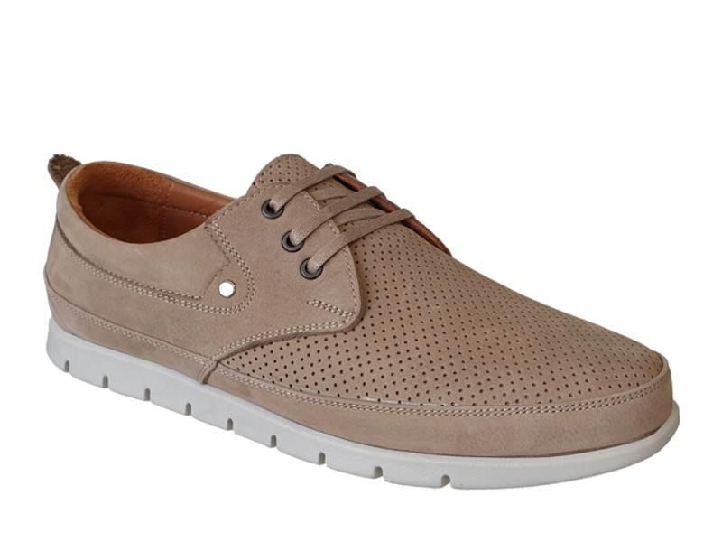 Ανδρικά Δερμάτινα Παπούτσια - Μοκασίνια | Safe Step 1042