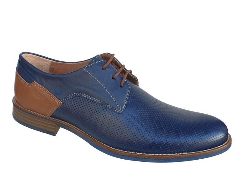 Δετά παπούτσια SOFTIES 6951 | Casual Ανδρικά Σκαρπίνια
