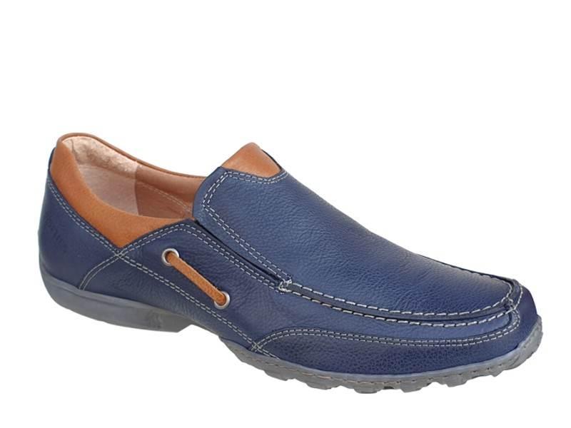 Ανδρικά ανατομικά Μοκασίνια loafers SOFTIES 6969
