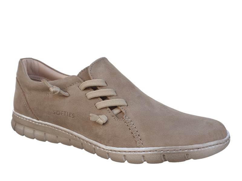 Γυναικεία Ανατομικά Μοκασίνια - loafers | SOFTIES 7984 Μπεζ