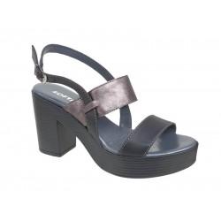 Δερμάτινα Ανατομικά Γυναικεία Πέδιλα | SOFTIES shoes | Papoutsomania.g