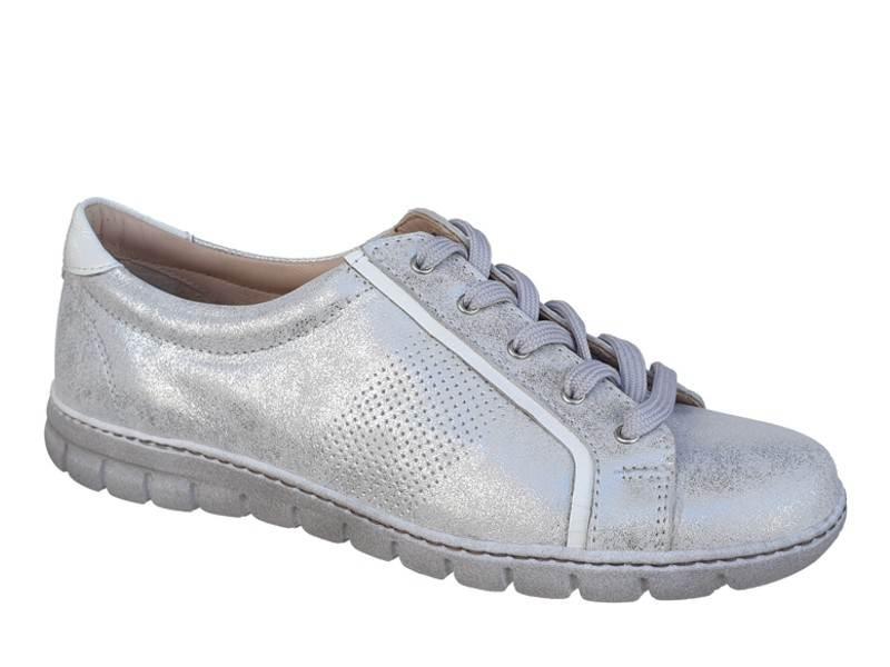 Γυναικεία Παπούτσια Sneakers | SOFTIES 7957 Ασημί