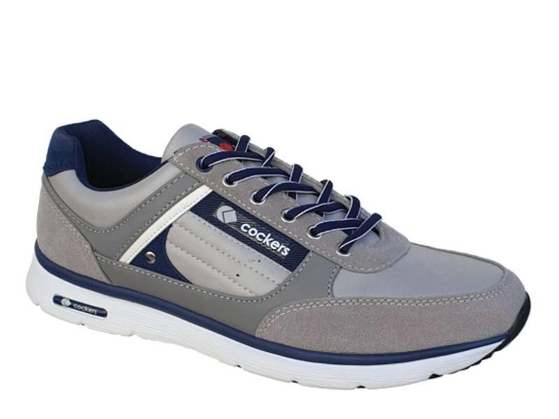 Παπούτσια Zak Cockers 62/042 Γκρι Ανδρικά Αθλητικά