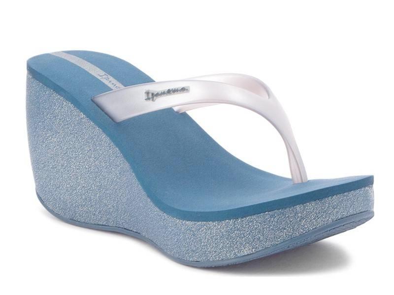 Ipanema 780-18356 Blue Silver | Πλατφόρμες - Σαγιονάρες | Papoutsomania.gr