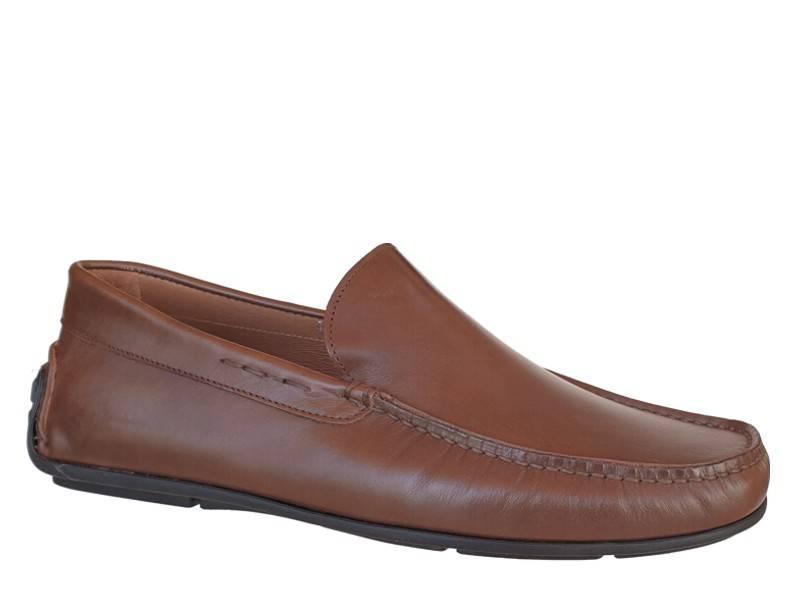 Ανδρικά Παπούτσια Kricket 545 | Δερμάτινα Ανατομικά Μοκασίνια - loafers