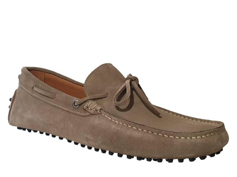 Ανδρικά Παπούτσια   Kricket shoes 540 Χακί   Δερμάτινα Μοκασίνια