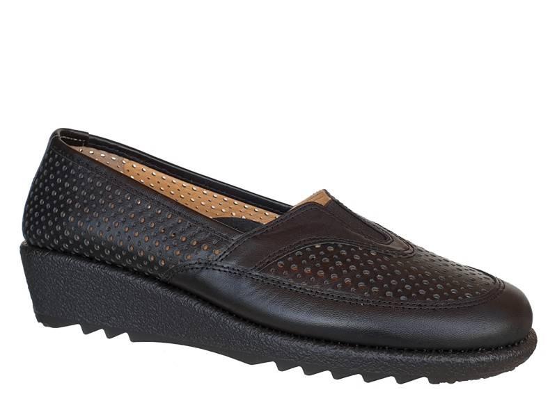 Δερμάτινα  Παπούτσια | Relax anatomic 7207-01 | Γυναικεία Μοκασίνια