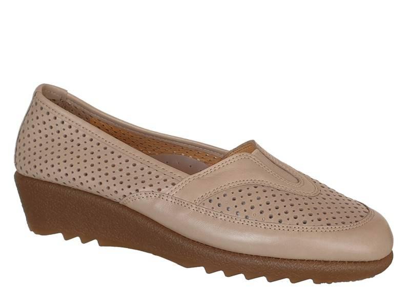 Δερμάτινα  Παπούτσια | Relax anatomic 7207-01 | Ανατομικά Μοκασίνια