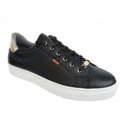 Ragazza 0121 Μαύρα Γυναικεία Sneakers