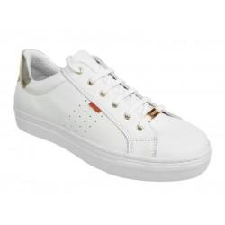 Ragazza 0121 Λευκά Γυναικεία Sneakers