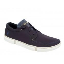 Hush Puppies HM02169-410 Μπλε Ανδρικά Παπούτσια