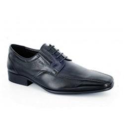 Ανδρικά Παπούτσια Boxer 41041 10-011 Μαύρα Casual Δερμάτινα Σκαρπίνια