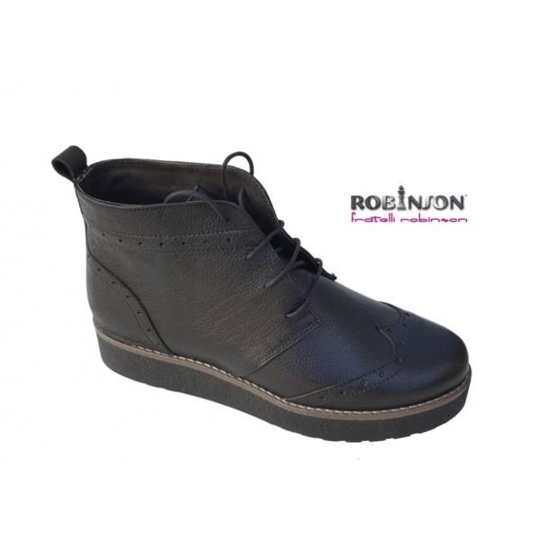 Robinson Fratelli 3811 Μαύρο δέρμα