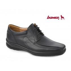Ανδρικά Παπούτσια Boxer 11328 14-111 Μαύρα Casual Σκαρπίνια - Δετά