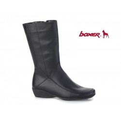 Boxer 52235 10-111 Μαύρο, Γυναικείες μπότες