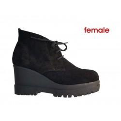db4bb62591d Female 6695 Μαύρο δέρμα καστόρι