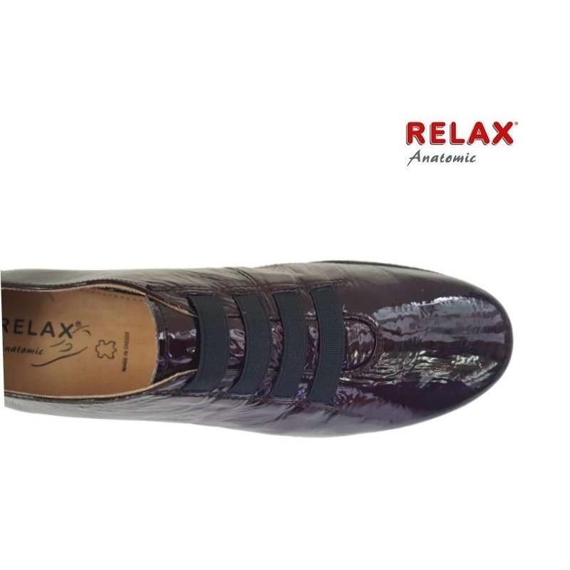 45842546d2d ... Γυναικεία Παπούτσια Relax anatomic 7302-03 Μπορντό Δέρμα λουστρίνι ...