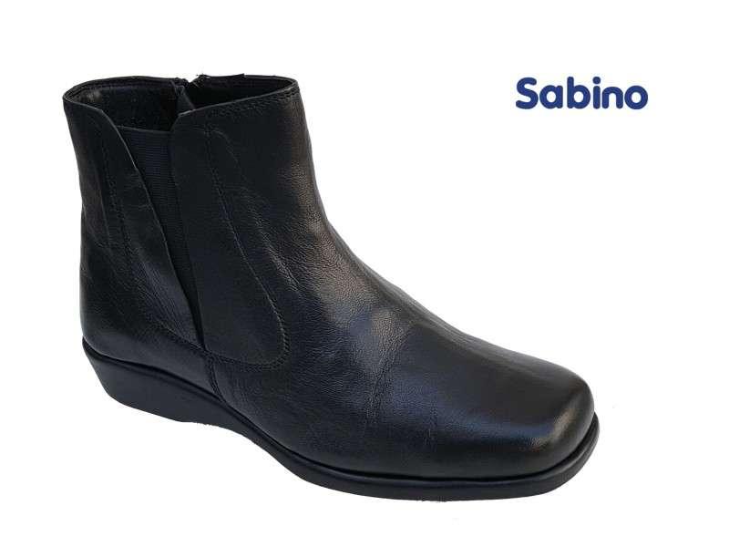 6f2fb66014c Sabino 241 Μαύρα Γυναικεία Μποτάκια