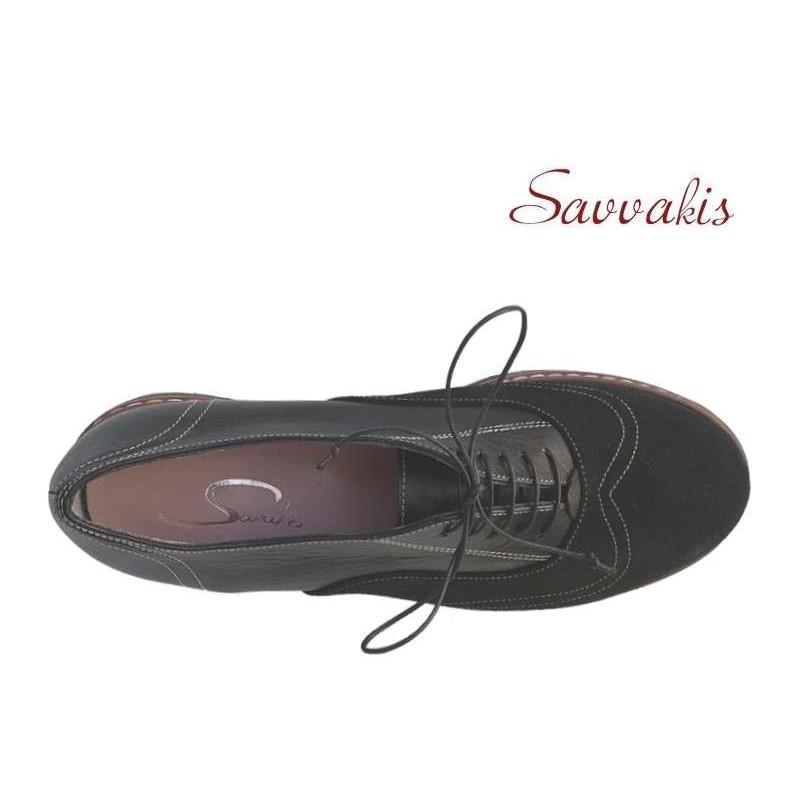 b59b92c044b SAV 011 Μαύρα Γυναικεία Σκαρπίνια - papoutsomania.gr